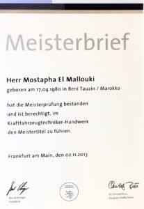 Mallouki Mostapha